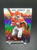 2020 Panini Mosaic CLYDE EDWARDS-HELAIRE SILVER PRIZM NFL DEBUT RC #266! CHIEFS
