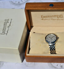 orologio EBERHARD 8 GIORNI 2009 braccialato in perfette condizioni con scatola
