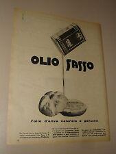OLIO SASSO D'OLIVA=ANNI '50=PUBBLICITA=ADVERTISING=WERBUNG=632