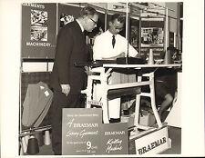 original braemar scottish  knitwear company photo 1970  - demonstration photo