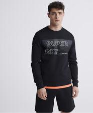 Superdry Herren Gymtech Sweatshirt Mit Rundhalsausschnitt Und Grafik