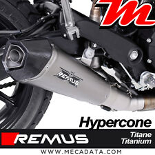 Silencieux Remus Hypercone titane avec catalyseur Ducati Scrambler Sixty2 - 2017