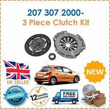 For Peugeot 207 307 1.4 8 Valve 2000- 3 Piece Clutch Kit NEW Good OE Quality