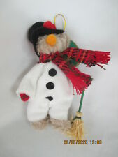 "Bearington Bears Blizzard Snowman 5"" Hanging Ornament 3717"