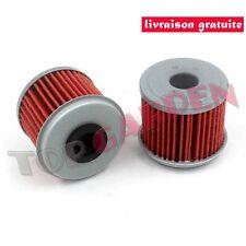 2x Filtre à huile pour Honda CRF150 F R CRF250R CRF450 TRX450 Hiflo HF116 KN116