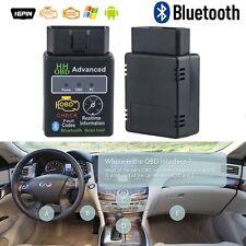 OBD2 ELM327 Scanner de voiture Bluetooth Scanner diagnostic automatique Android