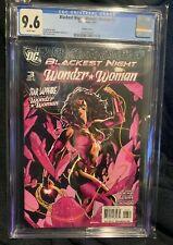 Blackest Night Wonder Woman #3 2010 Ryan Sook 1:25 Variant CGC 9.6 DC Comics HTF