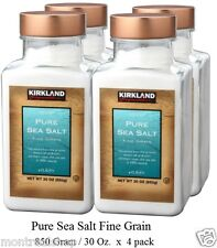 Kirkland Signature Pure Sea Salt Fine Grain   (4-pack)