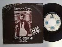 "Marvin Gaye / Got To Give It Up Pt. I + II 7"" Single Vinyl 1977 mit Schutzhülle"