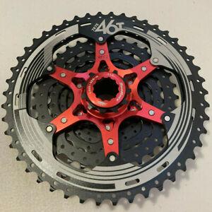 SunRace CSMX3 TAZ 10 Speed Wide Ratio Mountain Bike Cassette 11-46T Black Silver