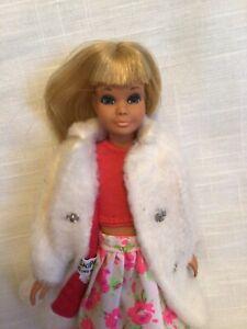 "Skipper Doll Vintage Japan, ""Chill Chaser 1966"" Coat, Barbie Baby & Swing Set"