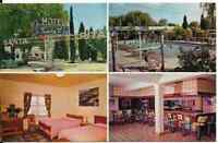 """The Santa Rita Motel/Hotel Resort Chijuajua, Mexico"" Postcard"