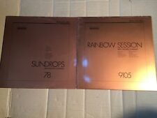 MIKE MOORE COMPANY - RAINBOW SESSION + SUNDROPS - SELECTED SOUND - 2 LP