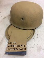 RLM79 SANDGELB FARBE WEHRMACHT LUFTWAFFE TROPEN ME110 JU88 FJ HELME 1kg LACK