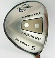 PureSpin Tungsten Diamond Face 5 Wood Composite Shaft Pure Spin Grip