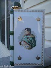 CAMUS Napoleon 1769-1969 White LIMOGES Porcelain EMPTY Old & Rare Cognac Bottle!