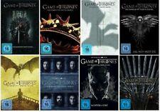 Game of Thrones DVD Staffel 1-8 (1,2,3,4,5,6,7,8) deutsche USK Versionen neu ovp