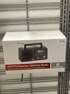 Radio Shack AM/FM/Weather Tabletop Radio