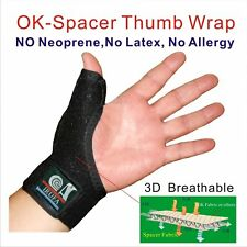 IRUFA 3D Small Size Thumb Splint Brace Support Stabilizer Spica Trigger Finger