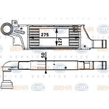 ORIGINAL HELLA Ladeluftkühler Opel Corsa C Bj.03- 8ML376723-281