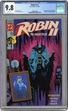 ROBIN II JOKERS WILD 1 CGC 9.8 - JOKER Robin 2 ii ll -Batman Joker's 1991 Jones