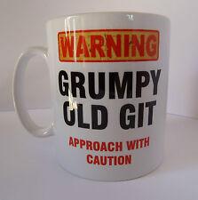 Grumpy Old Git Funny Design Novelty Gift Tea Coffee Office Mug Fathers Day Xmas