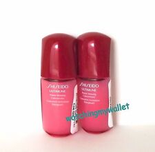 LOT 2 Shiseido Ultimune Power Infusing Concentrate Travel Size .34 oz 10 ml New~