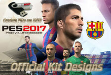 PES 2017 Option File on USB PS4 - Pro Evolution Playstation 4 Official Kits Logo