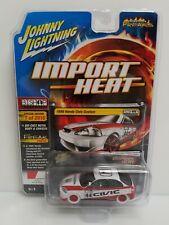 Rare Johnny Lightning Import Heat 1998 Honda Civic White Lightning Chase 1 Of 40