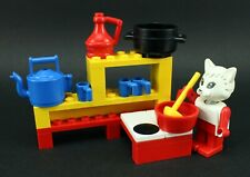 LEGO Fabuland 3795 Kitchen Complete