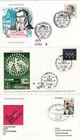 33 x Ersttagsbriefe Deutschland BRD 1966 bis 1979 u. 7 Pfg Nürnberger Bote 1961