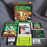 Incubation: Time Is Running Out Original Ubisoft Blue Byte PC Big Box Game RARE