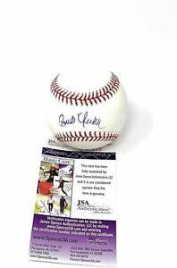 Bob Uecker Indianas Brewers Signed Autograph MLB Baseball JSA Certified