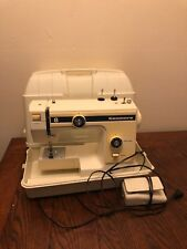 Vintage KENMORE SEWING MACHINE 8 - With Foot Pedal And Carrying Case Tested