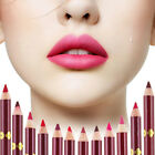 Fashion Women's Lipliner Lip Liner Pencil Pen Waterproof Makeup Cosmestics Hot