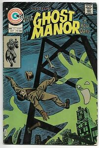 Ghost Manor #25 (Charlton, 1975) – Steve Ditko cover – Visit If You Dare! – VG+