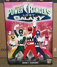 Power Rangers Lost Galaxy Season 1 (DVD BoxSet) PAL French Audio Coffret