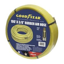 """Good Year 100' x 3/8"""" 250 PSI Rubber 12752 Air Compressor Hose Goodyear USA Made"""