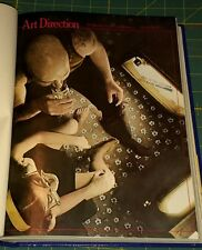 "ART DIRECTION Oct - Mar 1978-79  ""Magazine of Visual Communications"" 6 months."
