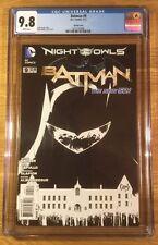 Batman 9, 1:200 sketch cover New 52, CGC 9.8, graded NM/MT