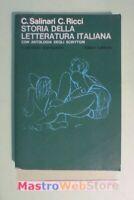 SALINARI /RICCI -STORIA DELLA LETTERATURA ITALIANA- IL SECONDO DOPOGUERRA [L107]