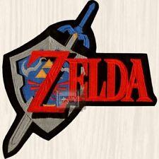 Legend of Zelda Logo Embroidered Big Patch Link SNES Videogame Console Nintendo