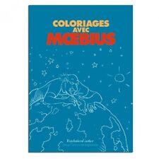 Jean Giraud  Moebius  Coloring Book, COLORIAGES AVEC MOEBIUS (Fondation Cartier) Comic Art