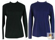 Long Sleeve Turtleneck Machine Washable Casual Tops & Blouses for Women