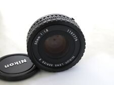 Nikon MF 50mm 1.8 AIS Serie E Objektiv Gewährleistung 1 Jahr