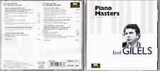 THE PIANO MASTERS.-EMIL GILELS.2CD.