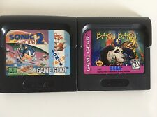 Baku Baku (Sega Game Gear, 1996)/ Sonic Hedgehog Lot