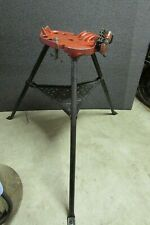 "Ridgid No. 450 Tri-stand 1/8"" to 5"" Portable Pipe Chain Vise"