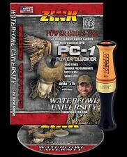 ZINK  PC-1 CUSTOM HUNTER GOOSE CALL AND INSTRUCTIONAL DVD COMBO NEW!!!