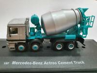 Mercedes Benz Actros Cement Truck Cararama 1/87